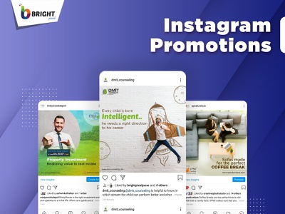 Instagram Pramotion web branding design