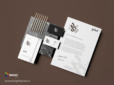 LOGO DESIGNING BY BRIGHT PIXEL vector graphic packaging typography branding logo design