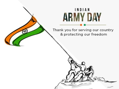 Indian Army Day | Bright Pixel packaging design branding graphic designing typography logo design