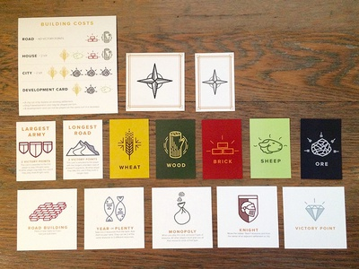 Catan Cards