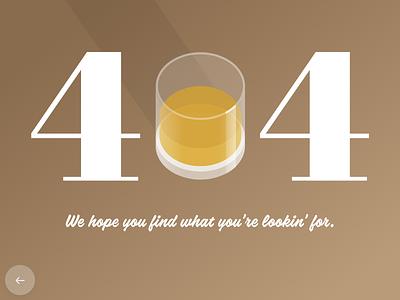 Daily Ui 008 404 Page content writing ux user interface ui midcentury bourbon 404 error 404 dailyuichallenge dailyui008 dailyui adobe xd