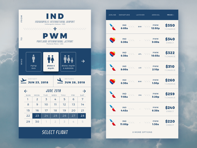 Daily UI 024: Flight Planner interface uiux ux ui adobe xd adobe flight planner dailyui024 dailyuichallenge dailyui