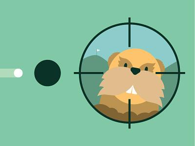Caddyshack spalding your language gopher golf caddyshack illustration film 80s movie poster minimal poster poster
