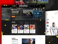Fifa 17 Game Landing Page