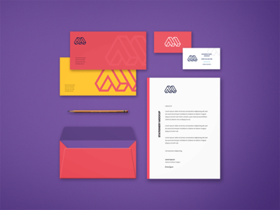 Free Realistic View Corporate Stationery Mockup