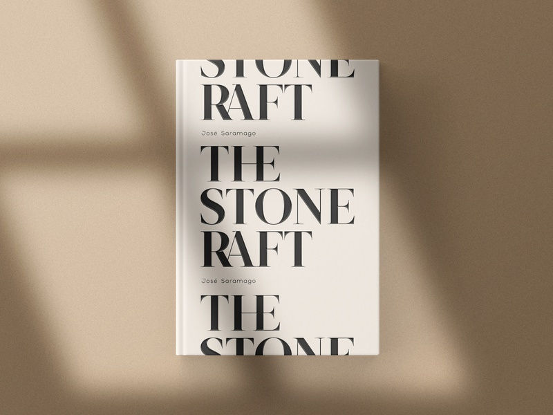 The Stone Raft design typefoundry typeface portugal editorial design kobufoundry serif font saramago graphicdesign book typogaphy typedesign