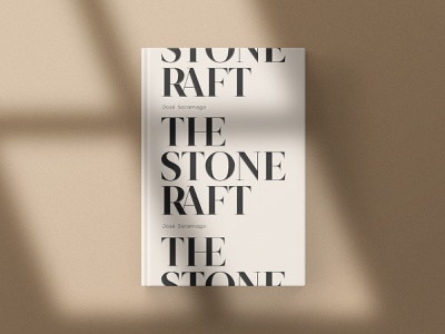 The Stone Raft design typefoundry typeface portugal editorial design kobufoundry serif font saramago graphicdesign book typogaphy typedesign