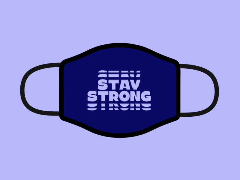 Stay Strong 💪 graphicdesign variable font kinetic type type typedesign typogaphy kobufoundry typefoundry design mask typeface