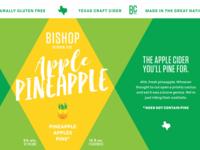 Bishop Apple Pineapple Cider