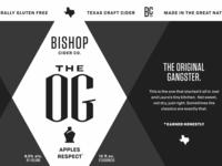 Bishop The OG Cider