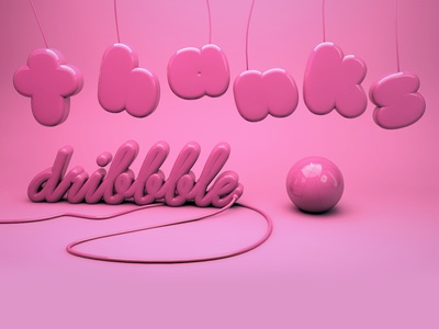 Thanks Dribbble