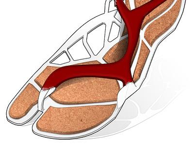 Speedo Dragon Fly 3d footwear sandal fashion