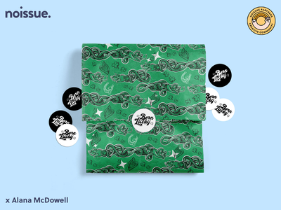 @alanamcdowell x noissue Homepage - 03/16 pattern design print design logo graphic design branding packaging illustration design