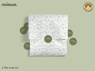 @the_luxe_co x @weare_wylde - 04/02 pattern design print design logo graphic design branding packaging illustration design