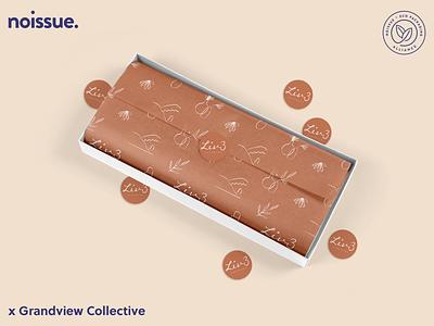 @grandviewcollective x @shopliv3 - 04/09 pattern design print design logo graphic design branding packaging illustration design