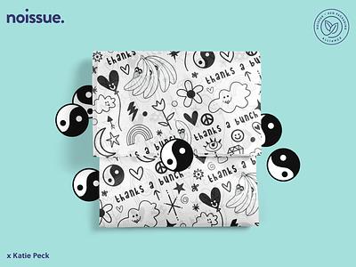 @katiepeckdesign x @acid_banana - 04/23 pattern design print design logo graphic design branding packaging illustration design