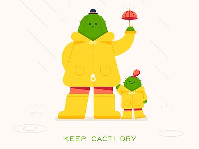 Gardening Tips 101 cactus character art design character design plants geometric flat illustration 2d