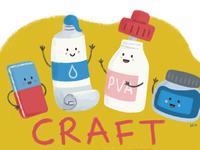 Craft editorial Illustration