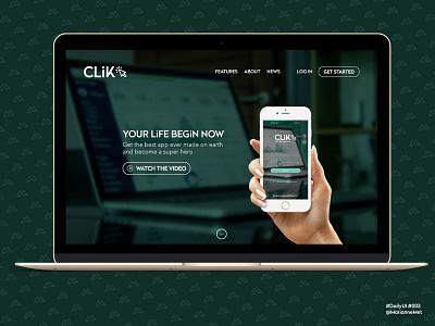 #DailyUI 003 - Landing page landingpage webdesign uidesign design dailyui