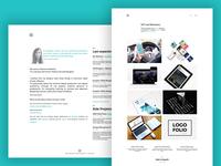 Portfolio Redesign landing page website web refresh design portfolio