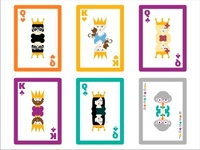 Deck of cards Characters