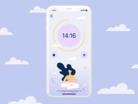 Countdown Timer #DailyUI014 dailyui014 countdowntimer countdown timer meditation app meditation countdown timer app ui ui dailyui