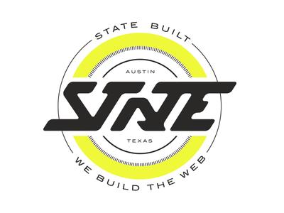 State Badge Yellow