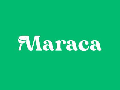 Maraca logo education branding logo