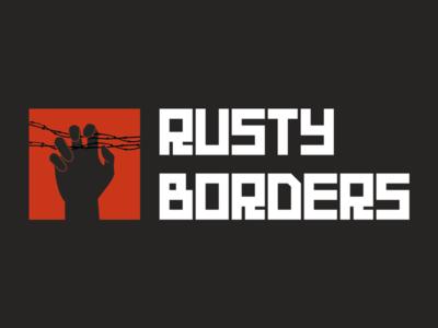Rusty Borders logo branding illustrator illustration logo borders rusty