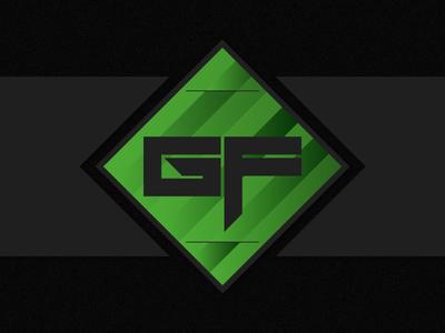 GhostForce logo green illustrator logo