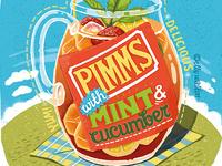 Summer Recipe Hand Lettering Illustration