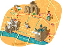 London Walk Map