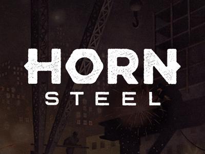 New Logo for Horn Steel