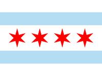 Chicago flag original