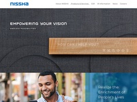 Nissha Proposed Website
