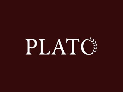 Plato luxury philosophy greece greek branding logo plato