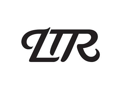 LTR Wordmark film logo ltr design brand