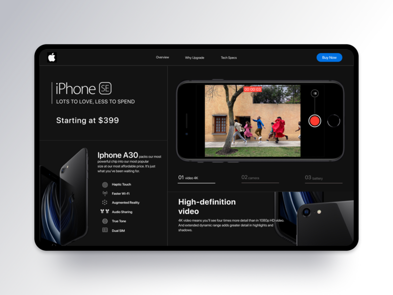 Dribbble Shot HD   1 ui design landingpage product design mobile