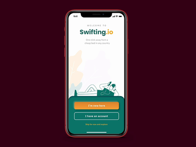 swifting.io booking app after effects design app figma xd design traveling prototyping prototype animation prototype uxdesign uidesign interaction design interaction application app animation ux ui ios