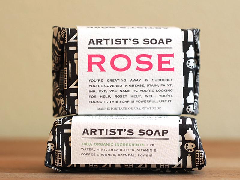 Artist's Soap packaging