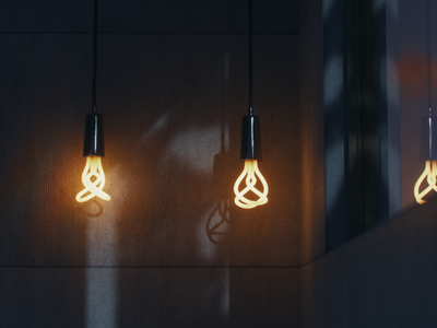 Light bulb love! archviz cgi art 3d