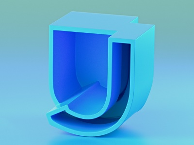 36DaysofType_J type c4d daily 36daysoftype everyday soy tico costa rica mrs. constancy cgi 3d