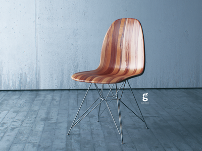 Day 20 - Mrs. Constancy - Interior Chair architecture chair c4d mrs. constancy daily render costa rica cgi 3d