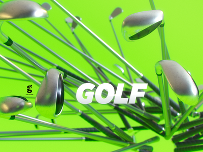 Day 40 - Mrs. Constancy - Golf sports golf soy tico costa rica mrs. constancy everyday daily cgi 3d