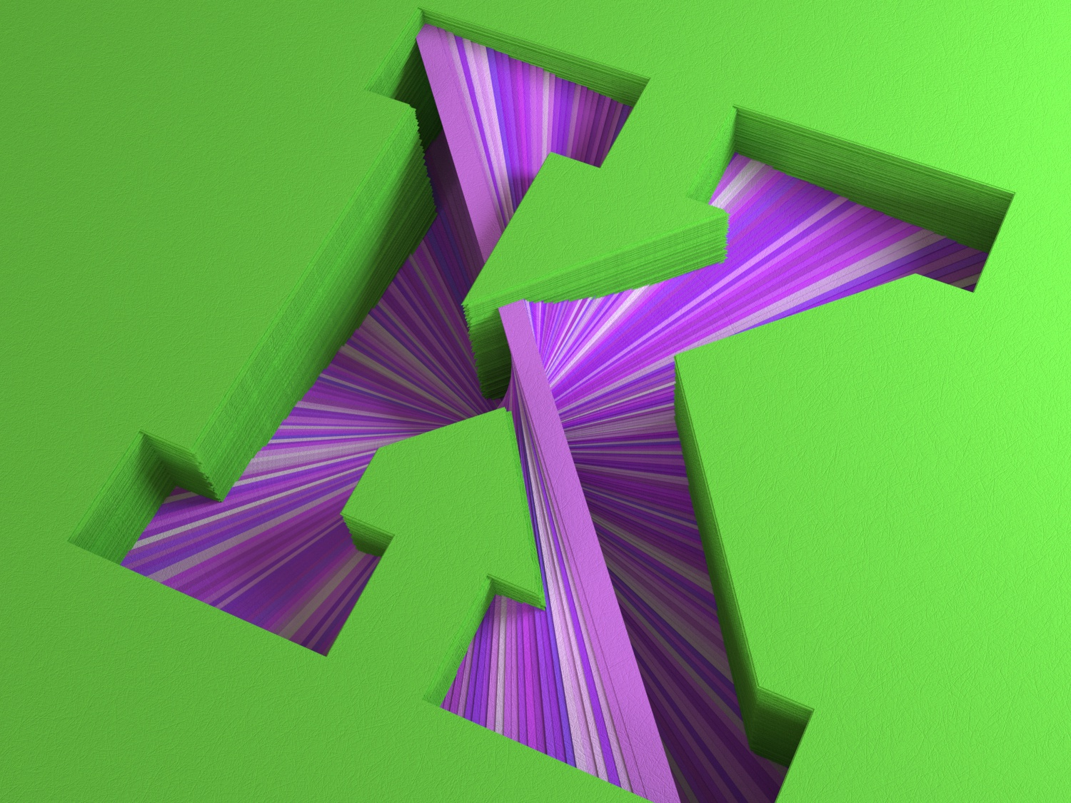 Paper K for 36 Days of Type c4d everyday daily soy tico costa rica mrs. constancy cgi 3d