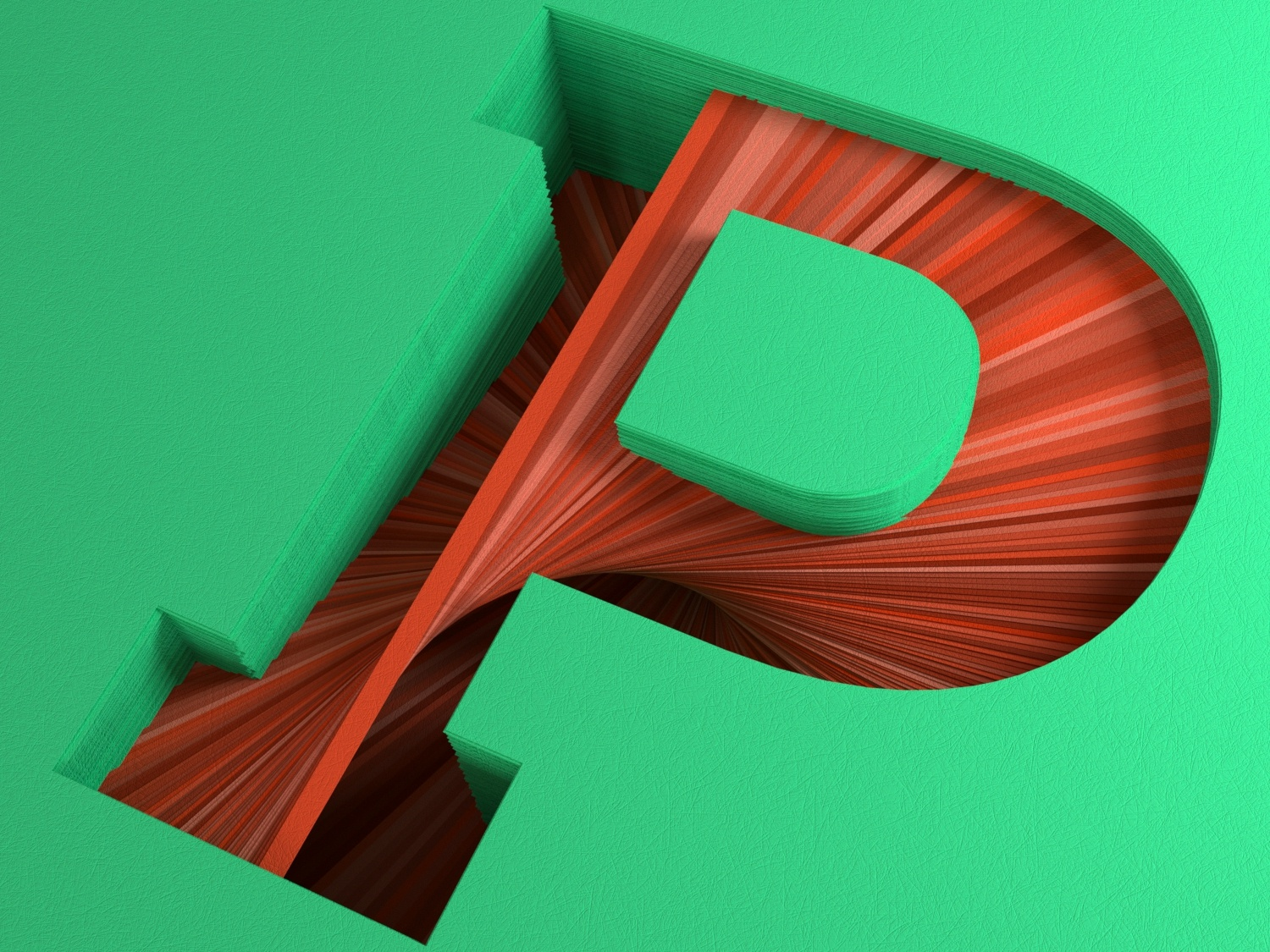 Paper P For 36 Days Of Type By Guido Aguero G On Dribbble