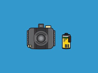 Kodak Baby Brownie Special camera flat 35mm photography film brownie kodak