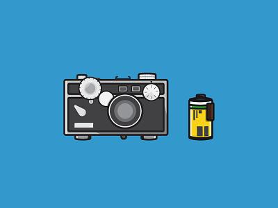 The Brick (Argus C3) brick argus c3 argus film photography flat camera 35mm flash