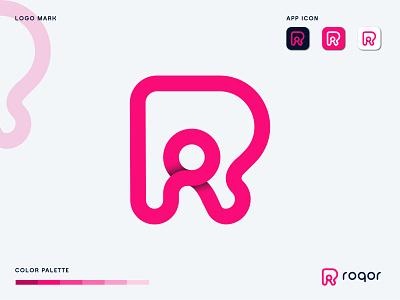 Letter R- app logo icon software technology symbol modern logo mark logo designer logo design logodesign r letter logo letter logo identity business branding design branding agency branding brand identity app icon app r logo abstract