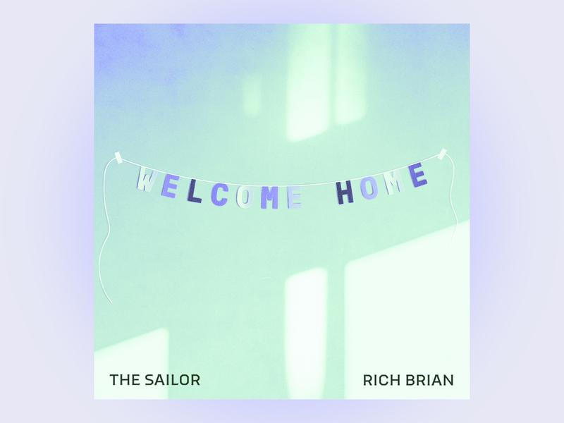 #5 the sailor by rich brian rap hiphop pastel lighting 10x19 album art illustration